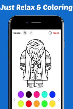 Learn Draw Coloring for Lego Harry Wizards by Fans apk screenshot