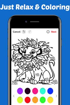 Learn Draw Coloring for The King Lion by Fans screenshot 1