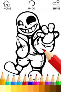 Learn Draw for Undertale Sans poster