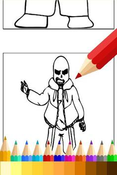 Learn Draw for Undertale Sans apk screenshot