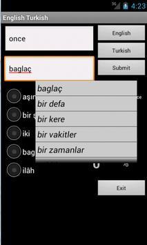 Learn English Turkish screenshot 10