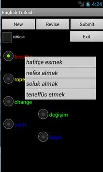 Learn English Turkish screenshot 2