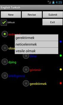 Learn English Turkish screenshot 3
