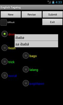 Learn English Tagalog screenshot 2