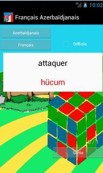 Learn French Azerbaijani poster