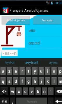 Learn French Azerbaijani screenshot 1