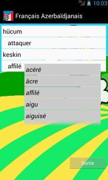 Learn French Azerbaijani screenshot 2