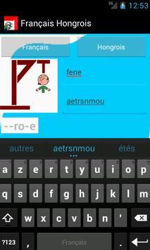 Learn French Hungarian screenshot 1