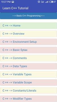 Learn C++ Full Offline screenshot 1