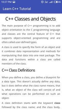 Learn C++ Full Offline screenshot 3