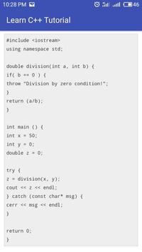 Learn C++ Full Offline screenshot 7