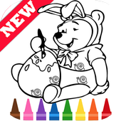 Learn Draw Winnie the Coloring Bear Pooh by Fans icon
