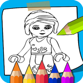 Learn to Coloring for Lego Friends by Fans icon