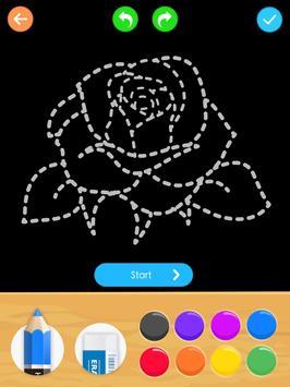 Learn to Draw Flower screenshot 16