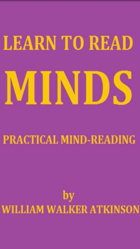 Learn to Read Minds FREE BOOK for Android - APK Download