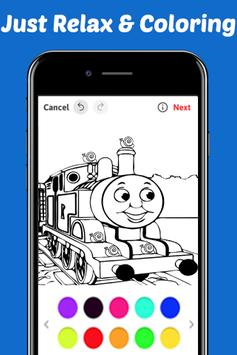 Learn Coloring for Thomas Train Friends by Fans screenshot 2
