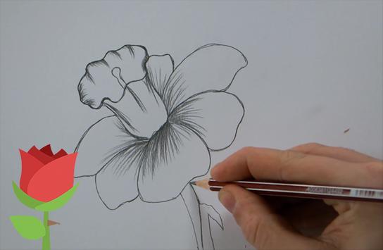 Como Dibujar Una Rosa Y Flores Paso A Paso For Android Apk