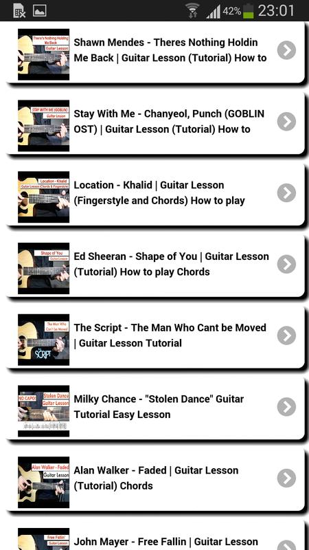 Learn to play the guitar for Android - APK Download