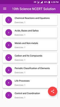 10th NCERT Science Solution screenshot 1