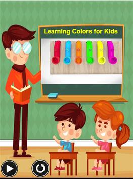 Learning Colors For Kids - A Learning App for kids poster