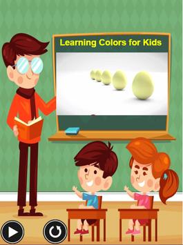 Learning Colors For Kids - A Learning App for kids screenshot 2