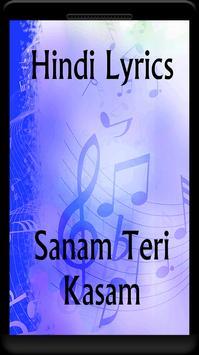 Lyrics of Sanam Teri Kasam for Android - APK Download