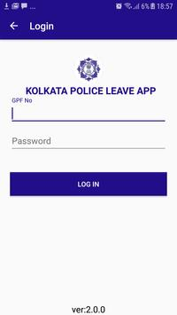 Kolkata Police Leave screenshot 1