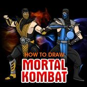 How to Draw MK 2 icon