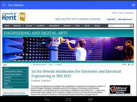 EDA Department News apk screenshot