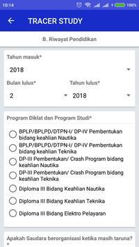 Tracer Study Poltekpel Surabaya screenshot 3