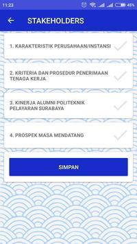 Kuesioner Stakeholder Poltekpel Surabaya screenshot 4