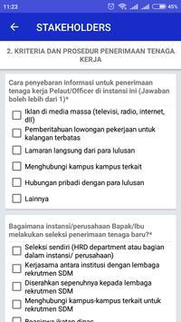 Kuesioner Stakeholder Poltekpel Surabaya screenshot 5