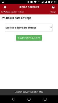 Legião Gourmet screenshot 3