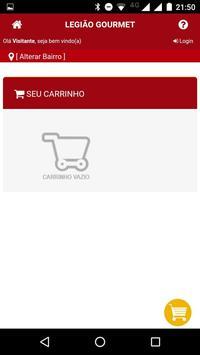 Legião Gourmet screenshot 4