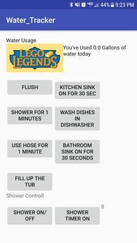 Lego Legends Water Tracker apk screenshot