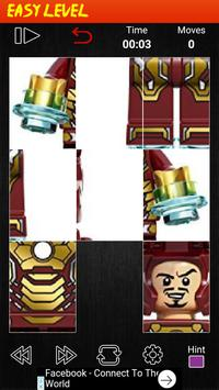 Puzzle Lego IronMan apk screenshot