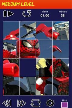 Puzzle LEGO Marvel Heroes screenshot 1