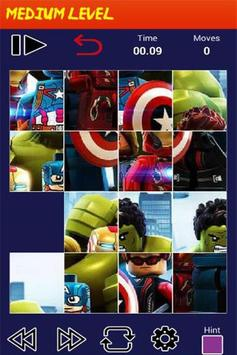 Puzzle LEGO Marvel Heroes screenshot 2