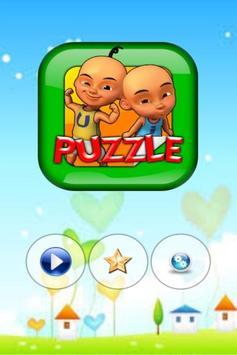 Puzzel Upin Ipin poster