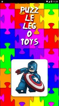 Puzzel Lego Toys poster