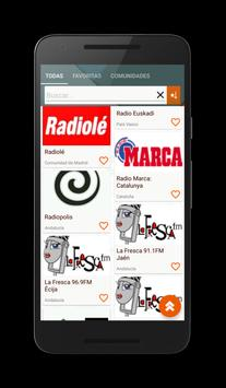 Spanish Radios screenshot 4