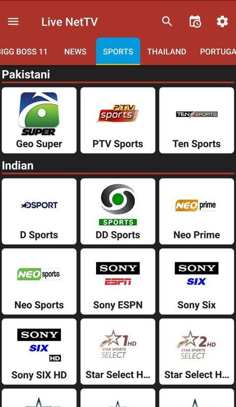 live net tv app download apkpure