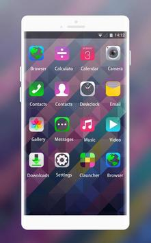 Abstract Shape Theme for Lenovo K5 Note apk screenshot