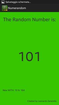 Numeri Random screenshot 3