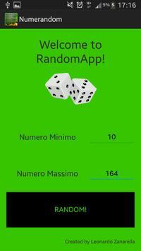 Numeri Random screenshot 1