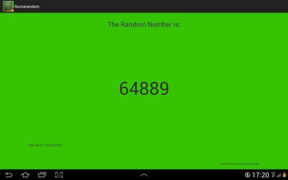 Numeri Random screenshot 7