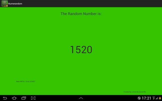 Numeri Random screenshot 6