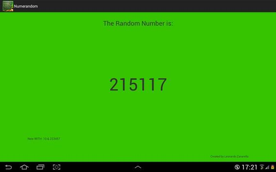 Numeri Random screenshot 8