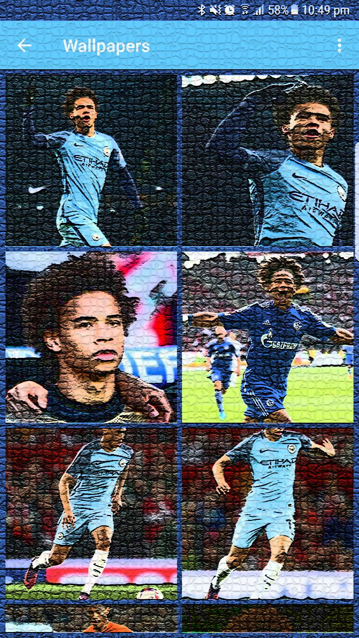 Leroy Sané HD Wallpapers - Man City for Android - APK Download