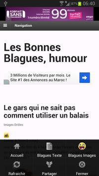 Les Bonnes Blagues - Humour apk screenshot